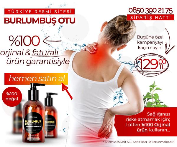 orjinal burlumbuş otu ağrı jeli